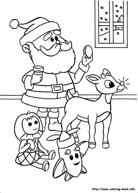 rudolph coloring page free rudolph the red nosed reindeer rudolph the red nosed
