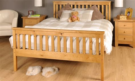 Bed Frame And Mattress Deals Uk Sardinia Solid Wood Bed Frame With Optional Mattress For 163 79 99 With Free Delivery