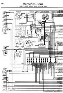 repair manuals mercedes 200 220 230 1968 70 wiring diagrams