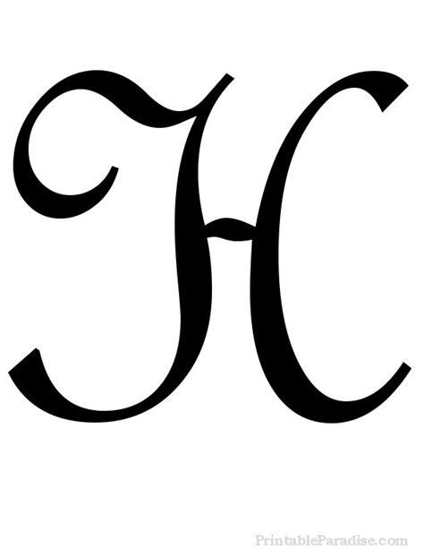 monogram letter template printable cursive letters free fancy cursive letters
