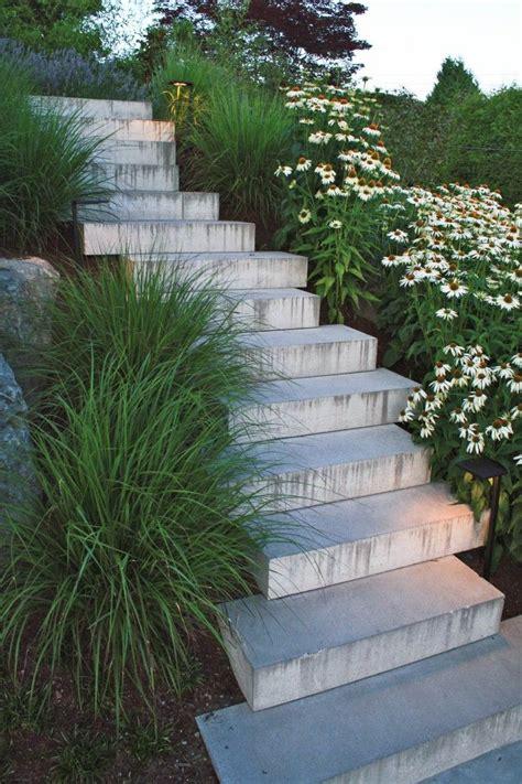 Concrete Garden Decor Modern Concrete Garden Decor And Designs Concrete Steps And Plants