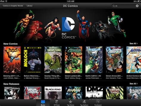 Komik Marvel Halo Graphic Novel dc to offer entire comic book library in the ibookstore