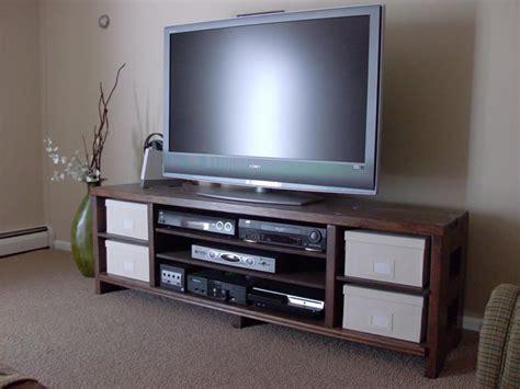 diy easy  build tv stand plans    build