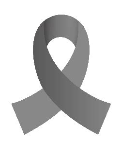 brain cancer ribbon color brain cancer ribbon clipart best