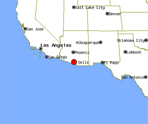 sells arizona map sells profile sells az population crime map