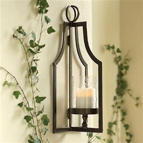 Outdoor Candle Wall Sconces Laurent Floor Lantern And Wall Sconce Traditional Outdoor Wall Lights And Sconces By