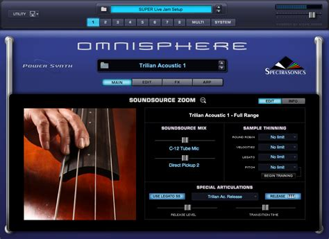 Trilian Spectrasonic Bass Instrument Vsti Vst Plugin Update spectrasonics omnisphere 1 1 64 bit windows