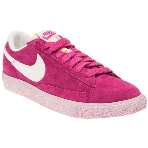 Nike Blazer Low Suede Pink s pink nike blazer low suede at schuh