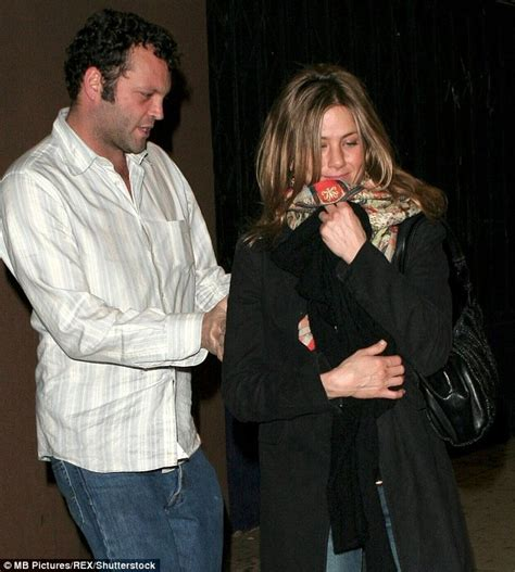 Jen And Vinces Sleepover by Vince Vaughn Looks Worn Out And Faced As He Waddles
