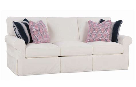 rowe slipcover sofa nantucket 3 seat queen sleeper sofa with slipcover by rowe