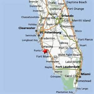 map of florida showing punta gorda phantoms and monsters pulse of the paranormal