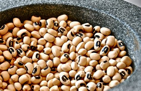 new year s food tradition black eyed peas and greens in season black eyed peas serious eats