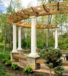 Curved Pergola Designs by 21 Best Images About Pergolas Curved On Pinterest Deck
