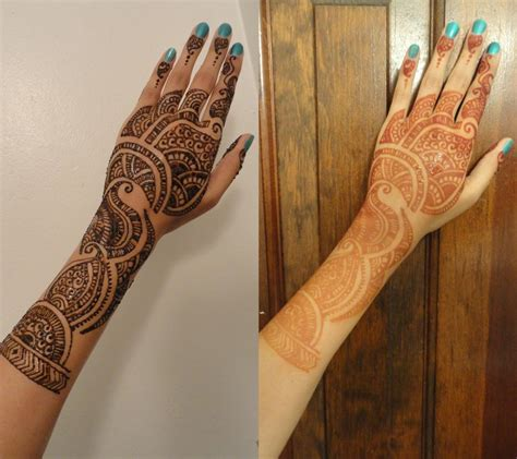 henna tattoo before and after henna designs for hand feet arabic beginners kids men