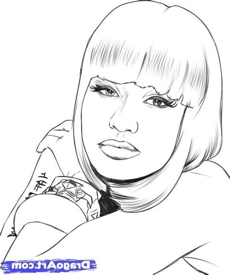 Nicki Minaj Coloring Pages My Blog Nicki Minaj Coloring Pages
