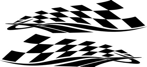 Racing Sticker Design by 12 Checkered Graphic Designs For Cars Images Checkered