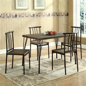 Walmart Dining Room Furniture Global Furniture 5 Piece Dining Room Set In Brown