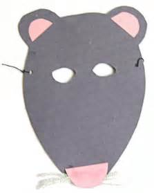 printable rat mask kids horse mask printable picture to pin on pinterest