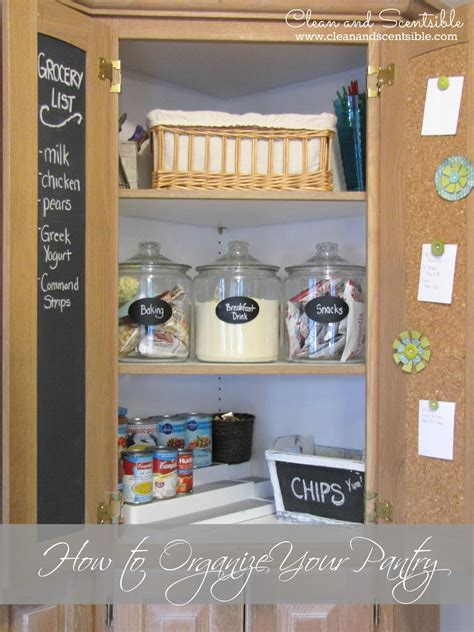 how to organize pantry how to organize your pantry clean and scentsible