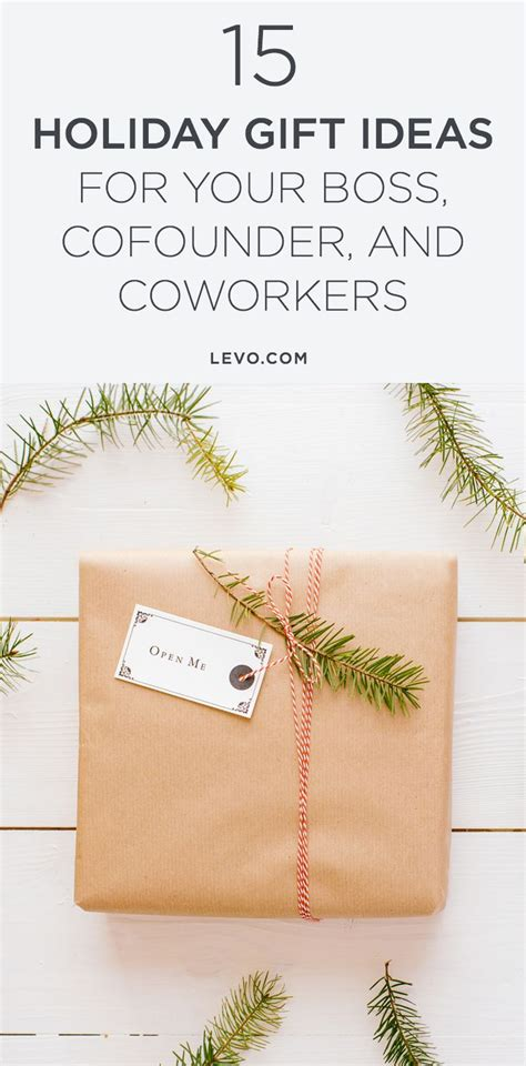 15 holiday gift ideas for your boss cofounder and