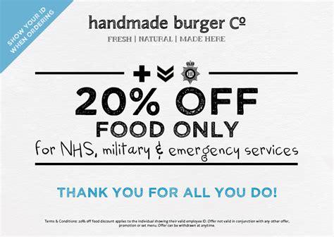 Handmade Burger Discount - handmade burger co terminal emergency services