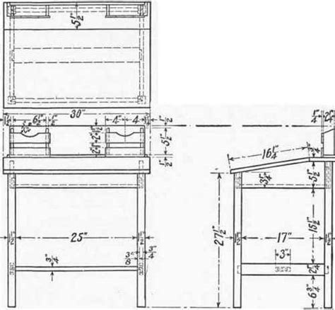 writing desk woodworking plans pdf writing desk plans woodworking plans free