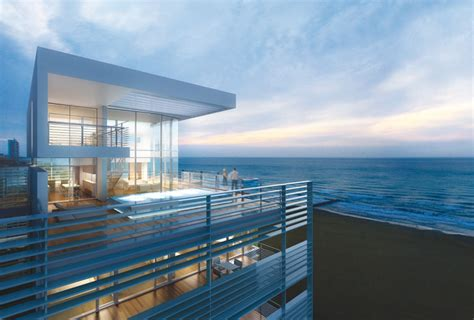 where to buy a beach house the beach houses five penthouses offer the opportunity to own a piece of the sky