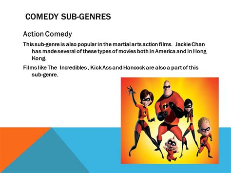 film comedy genres comedy ppt download
