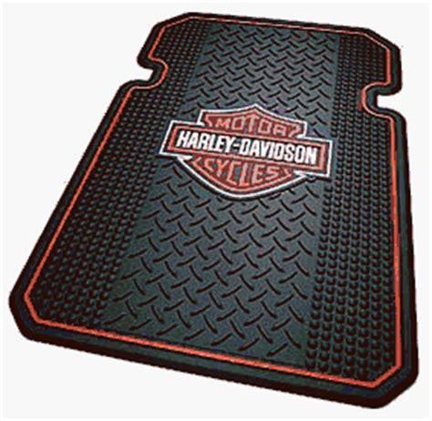 Harley Davidson Floor Mat by Harley Davidson Rubber Front Truck Mats