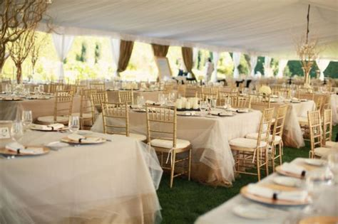 wedding table overlays venue linens weddingbee