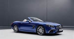mercedes sl and slc models get designo and redart