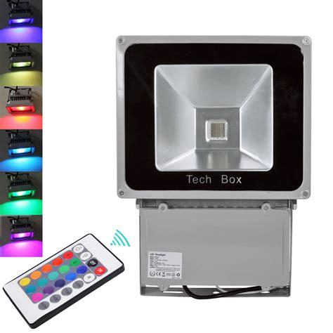 beleuchtung led strahler led strahler rgb led strahler fluter spot panel r 246 hren