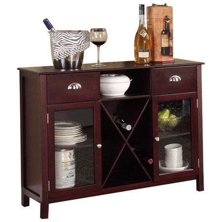 Buffet Server Wine Rack buffet server wine rack in cherry dining room