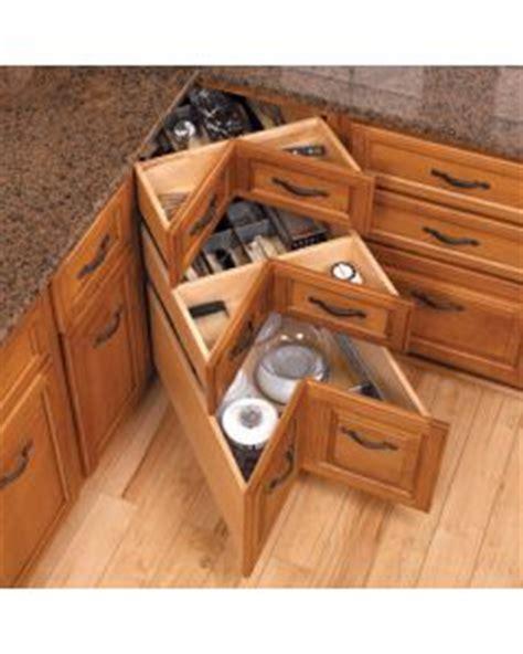 Lazy Susan Alternatives: Corner Cabinet & Tabletop