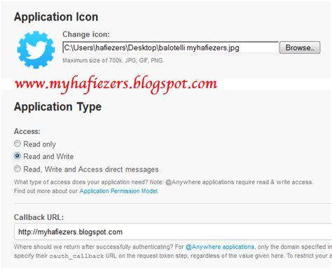 membuat status twitter cara membuat aplikasi update status twitter via apa aja