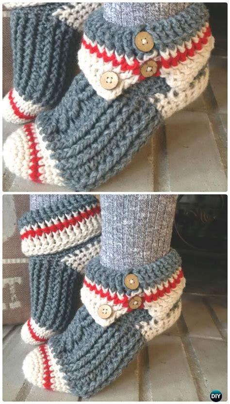 knitting pattern ladies socks 25 crochet women slippers free patterns crochet sock