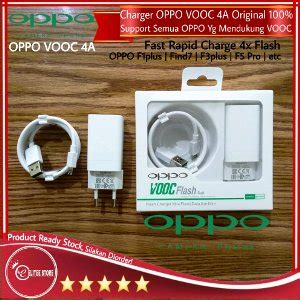 Oppo Original Charger For Oppo F3 jual charger oppo vooc 5v 4a fast charging f3 plus f1 plus