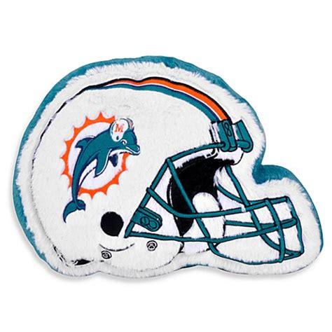 miami dolphins bedding nfl miami dolphins helmet throw pillow bed bath beyond