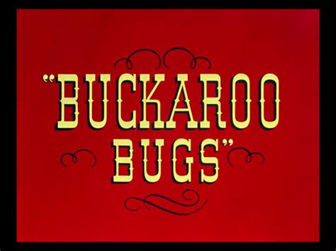 looney tunes title card template buckaroo bugs