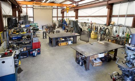 fabrication shop layout design morris l hallowell s shop welding blacksmithing and