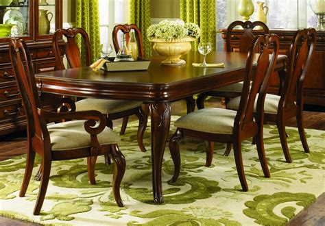 dining room furniture sets legacy classic furniture evolution 7 piece 72x44 leg table