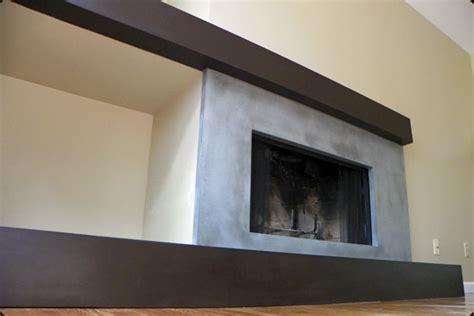 Asymmetrical Fireplace by Concrete Pete Quince Avenue Boulder