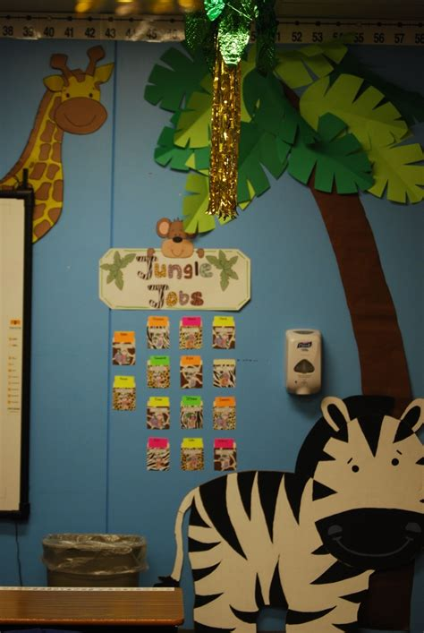 jungle theme classroom images  pinterest