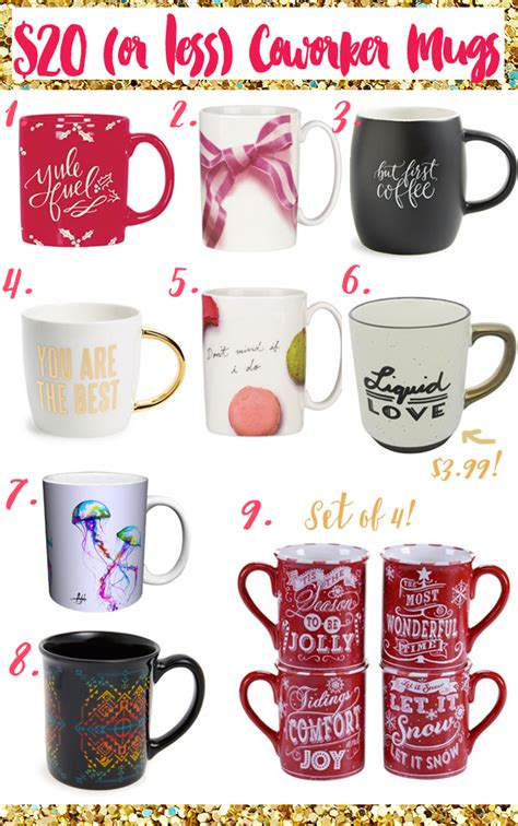mug gifts for coworkers 20 under frugal beautiful