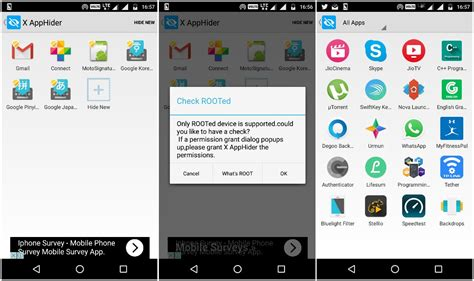 x app for android how to hide android apps ubergizmo