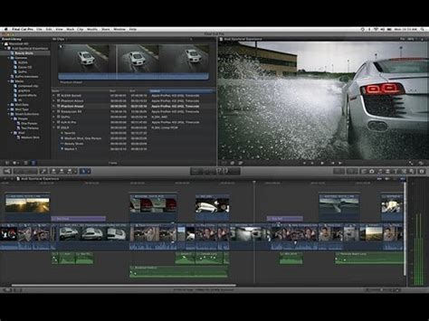 final cut pro in yosemite final cut pro opening on os x yosemite 10 10 youtube