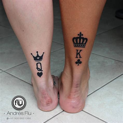 couple crown tattoos 8 228 me gusta 137 comentarios rad tattoos radtattoos