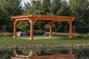 Pictures Of Pergola by Pergolas Byler Barns