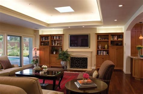 recessed lighting in living room modern living room with recessed cove lighting