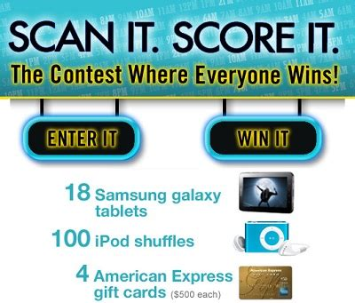 Everyone Wins Sweepstakes - scan it score it the contest where everyone wins sweepstakesbible
